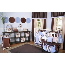 Minky Dot Crib Bedding Collection