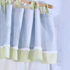 Sammy Cotton Blend Tab Top Tailored Curtain Valance