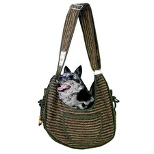 Private Stripe Puppy Sling Pouch