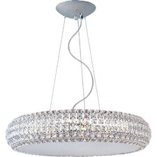 Bijou 10 Light Drum Pendant