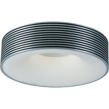 Alumina 1-Light Flush Mount