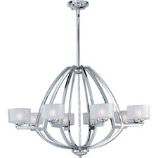 Vortex 8 Light Foyer Pendant