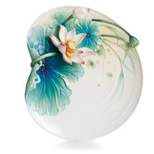Peaceful Lotus Dessert Plate