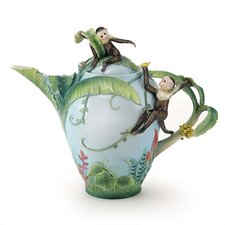 Jungle FunPorcelain Teapot