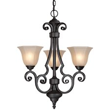 Winston 3 Light Chandelier
