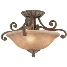 Windsor 4 Light Semi Flush Mount