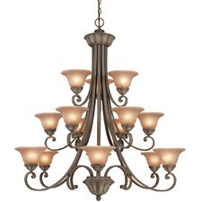 Windsor 15 Light Chandelier