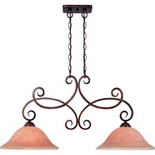 Medici 2 Light Kitchen Island Pendant