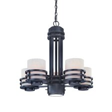 Saturn 5 Light Chandelier