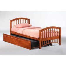 Zest Molasses Slat Bed