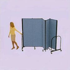 Commercial Edition Five Panel Portable Room Divider