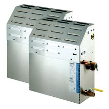 Steambath Generator with Removable and serviceable industrial strength heating elements