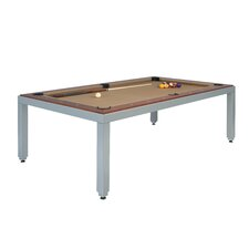 Fusiontables Powder Coated Steel 7' Pool Table