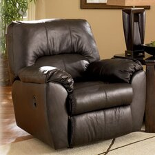 Nada Leather Chaise Recliner