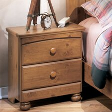 Elsa 2 Drawer Nightstand