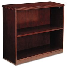 Luminary Series Veneer 2-Shelf Bookcase