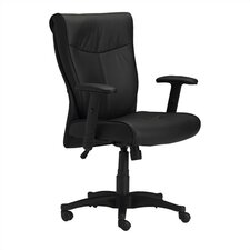 AVA 2528 Mid-Back Office Chair with Arms