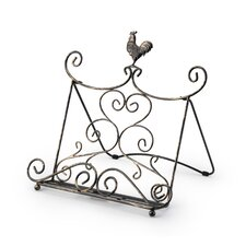 Cookbook Stand in Antique Bronze