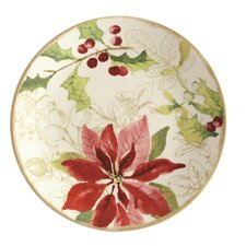 Signature Holiday Floral Dinnerware Set