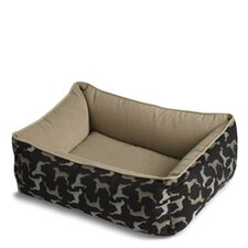 Bumper Style Rotator Dog Bed