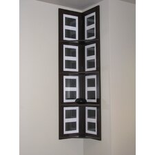 Four Tier Hanging Corner Shelf Picture Frame