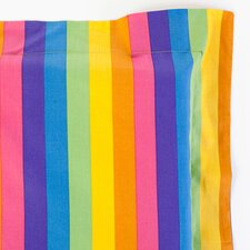 Colorful Rainbow Print Cotton Pillow Sham
