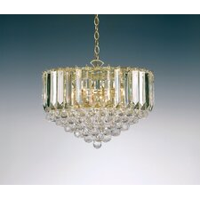 6 Light Crystal Chandelier