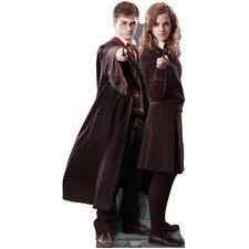 Harry and Hermione - Harry Potter Cardboard Stand-Up