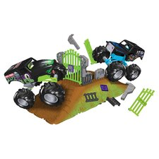 MJ: Grave Digger VS Son of Grave Digger Building Set