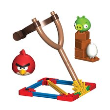 Angry Birds Red Bird and Small Minion Pig Building Set