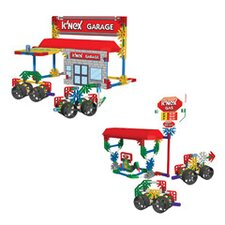 Classics Garage / Gas Station Building Kit