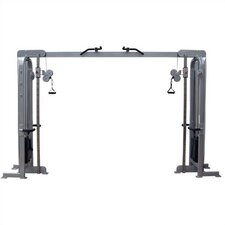 I Series Commercial Adjustable Cable Crossover with Chin Up Bars and Optional Double Pulleys