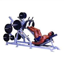 High Impact Commercial Angled Leg Press with Plate Storage