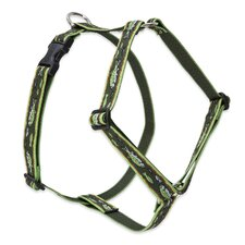"Brook Trout 1"" Adjustable Large Dog Roman Harness"