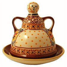 Butter Lady Covered Butter Dish