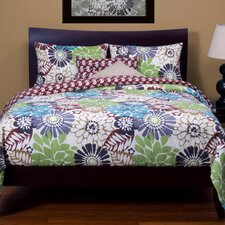 Blooming Bulb Harvest Duvet Set