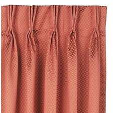 Lindsay Cotton Rod Pocket Orton Curtain Single Panel