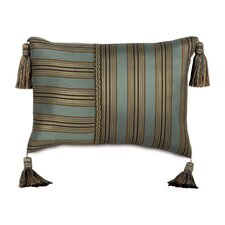 Chapman Polyester Marmara Sea Decorative Pillow with Tassels