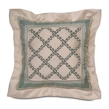 Carlyle Polyester Witcoff Mitered Decorative Pillow