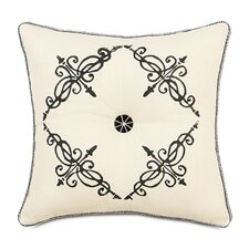 Evelyn Polyester Breeze Tufted Decorative Pillow