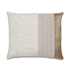 Sarasota Polyester Decorative Pillow with Pleats