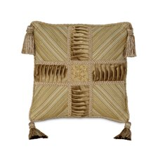 Gabrielle Edora Collage Tassels Decorative Pillow