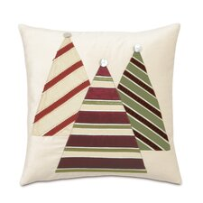 Candy Cane Christmas Tree Decorative Pillow