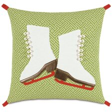 Seasonally Chic Skate Spade Pillow