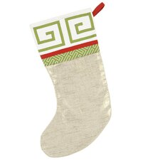 Seasonally Chic Jimmy Shoe Stocking