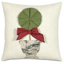 Fa La La Holiday Topiary Pillow