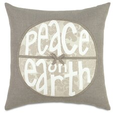 Dreaming of a White Christmas Peace on Earth Pillow