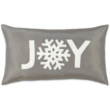 Dreaming of a White Christmas Snowflake Joy Pillow