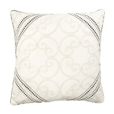 Evelyn Polyester Desiree Decorative Pillow with Gimp