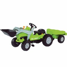 Jimmy Loader Plus Trailer in Green